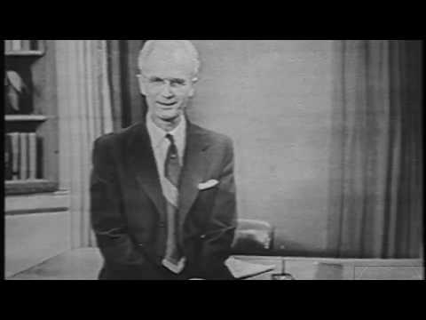 Johns Hopkins Science Review - DuMont Network - A Visit to our Studio (Jan. 7, 1952)