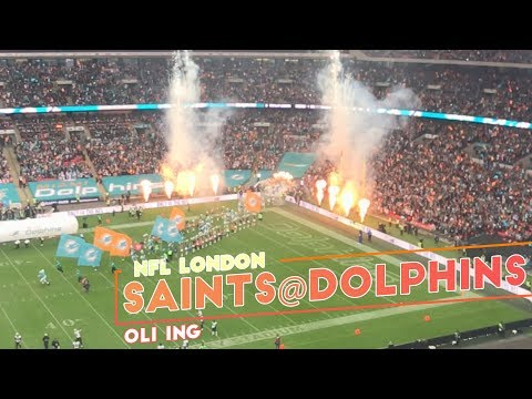 New Orleans Saints At Miami Dolphins | NFL London Games | NFL Vlog | October 2017