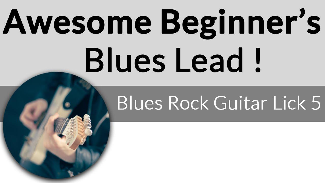 awesome beginner blues lead 5 5 blues guitar licks youtube. Black Bedroom Furniture Sets. Home Design Ideas