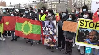 'Are they alive?' Ethiopians in Paris fear for loved ones in Tigray conflict