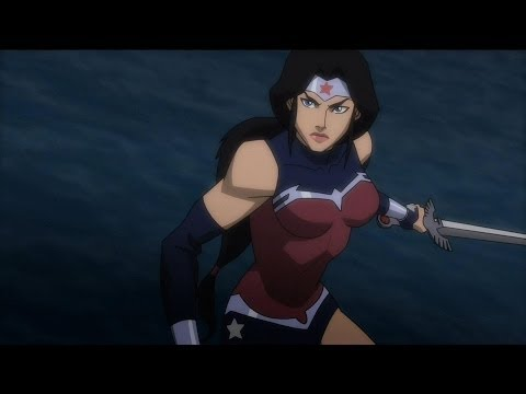 Wonder Woman vs Darkseid