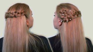 Прическа на Распущенные Волосы и Цветок из Волос (видео) Loose Hairstyle and Flower Hair(На распущенных волосах получаются прически легкие и красивые Девушки, которые носят распущенные волосы..., 2013-04-27T09:17:07.000Z)
