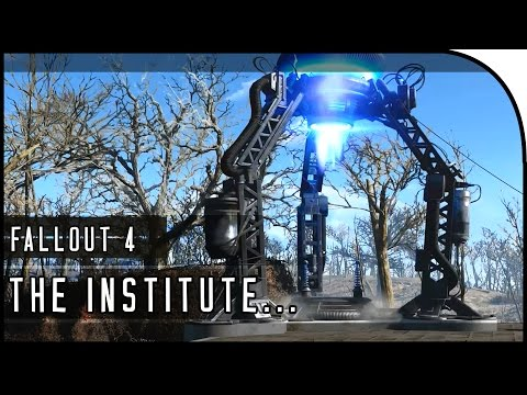 "Fallout 4 Gameplay Walkthrough Part 30 – ""TELEPORTER BUILDING, INSIDE THE INSTITUTE!!!"""
