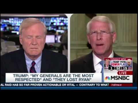 Trump General Interview Response l Roger Wicker For Senate