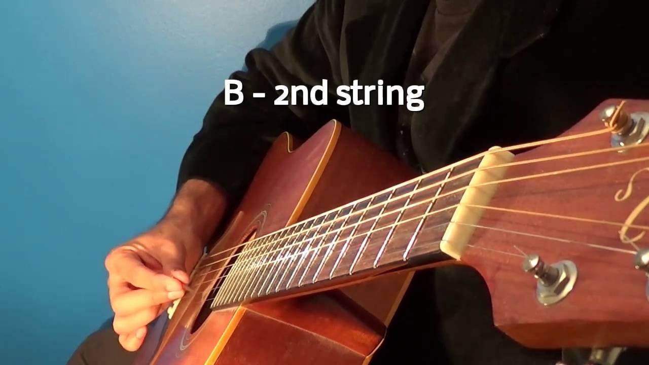 guitar tuner acoustic standard tuning e a d g b e youtube. Black Bedroom Furniture Sets. Home Design Ideas