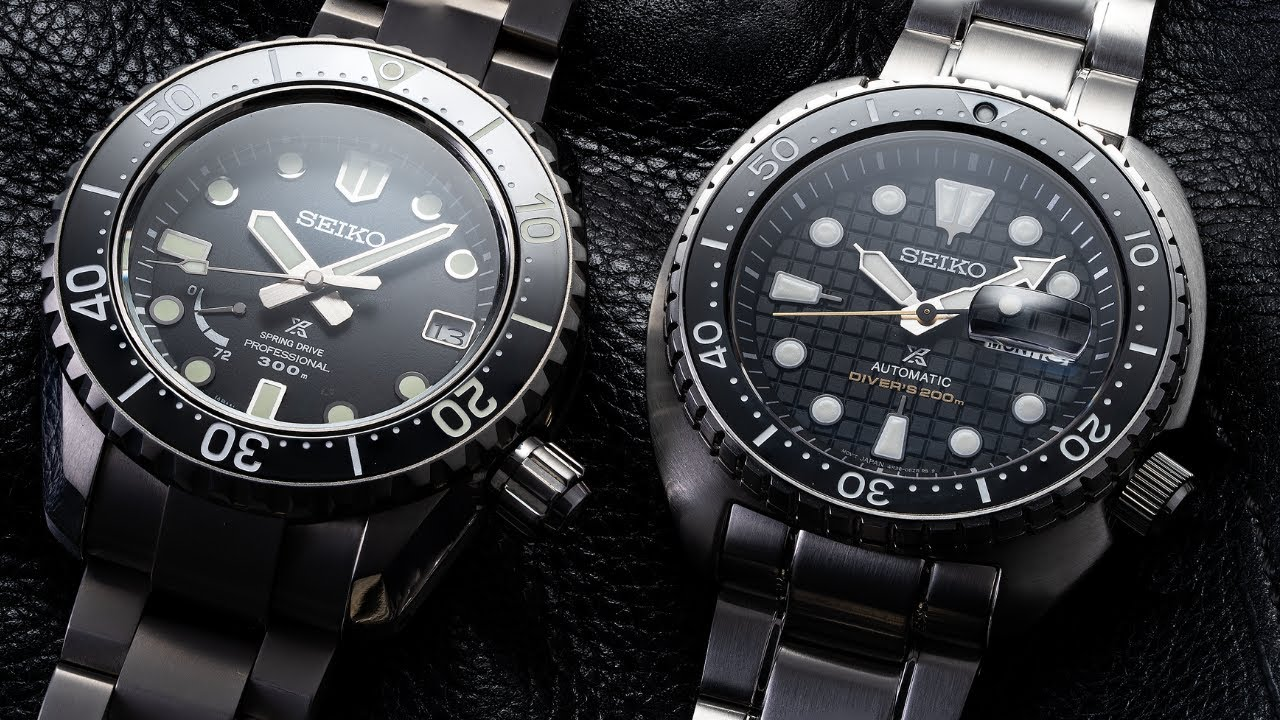 A $600 vs $6,000 Watch - What is the Difference? | Seiko King Turtle Vs Seiko LX