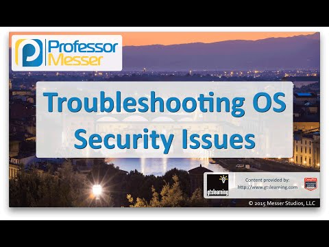 Descargar Video Troubleshooting Operating System Security Issues - CompTIA Network+ N10-006 - 4.7