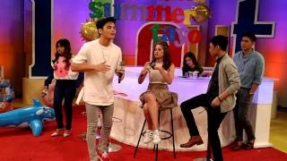 Ronnie Alonte and Sue Ramirez Hashtags Dance Moves