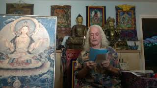 09-24-2020  Three Buddha Symbols, Shakamuni, Prajna Paramita, and Medicine Buddha.