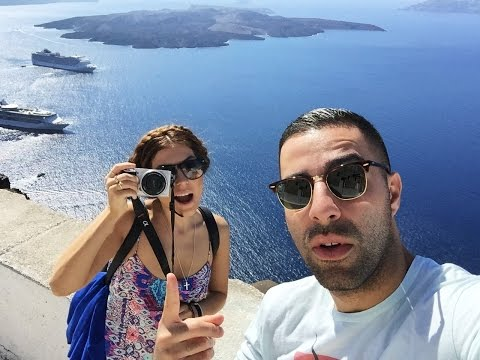 VLOG | Our Honeymoon In Greece: Santorini & Mykonos | Sona Gasparian