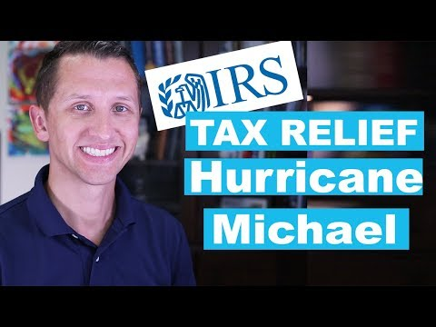 """<span class=""""title"""">Tax Relief for victims of Hurricane Michael in Florida</span>"""