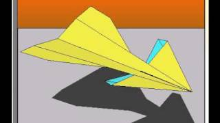 How To Fold The Antelope Paper Airplane