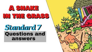 a snake in the grass questions and answers standard 7