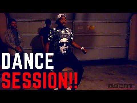 SuperBowl Weekend Dance Session | Houston Poppers @BamTheDancer @SirDancealot29