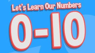 Let's Learn Our Numḃers 0-10 | Counting Song for Kids | Jack Hartmann Writing Numbers