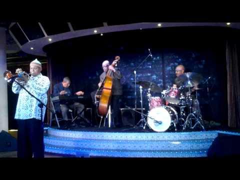 "Patrick ""Face"" Rickman on the Carnival Cruise line to Nassau, Bahamas with the Bill Lockett Jazz"