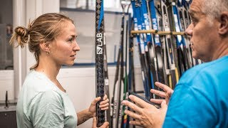 Follow along with American Nordic skier Sophie Caldwell on her firs...