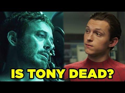 Spider-Man: Far From Home - Is Tony Dead? #newrockstarsnews