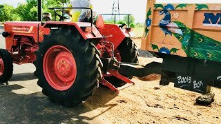 Mahindra 575 di power plus   Mahindra Tractor with trolley - Come From Village