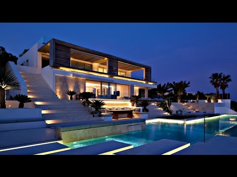 Spectacular Spanish Luxury Contemporary Modern Villa - Ibiza, Balearic Islands, Spain