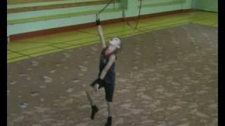 Mens Rhythmic Gymnastic  Russia(Мирон   скакалка)