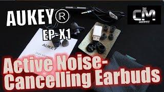 AUKEY EP-X1 Test - Earbuds mit Klinkenstecker & aktiver Geräuschdä...