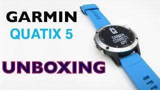 Garmin Quatix 5 Unboxing HD (010-01688-40)