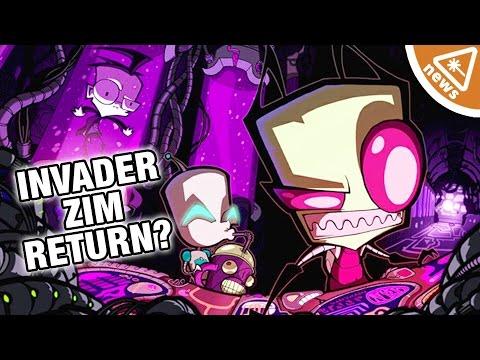 How Invader Zim Is Returning to Nickelodeon! (Nerdist News w/ Jessica Chobot)