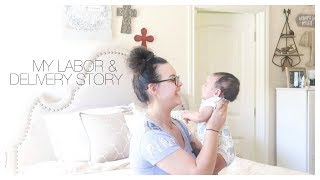 My Labor & Delivery Story | Baby #4 | Emotional