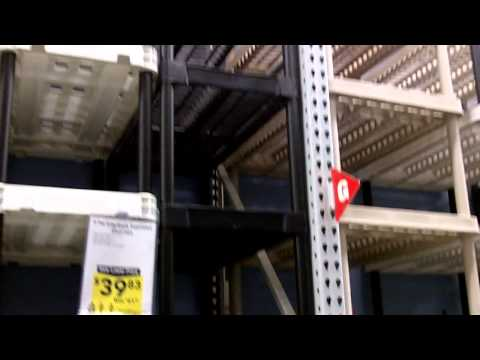lowes shelving