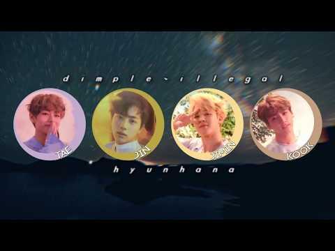 BTS: [방탄소년단] DIMPLE / ILLEGAL (Voice Deeper Version)