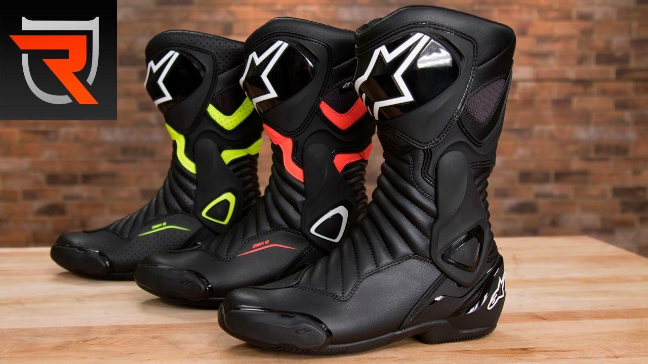 Alpinestars SMX 6 V2 Drystar Motorcycle Boots Product Spotlight Review | Riders Domain