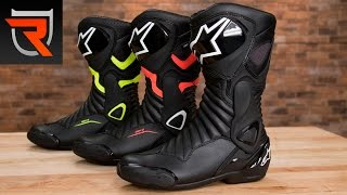 Alpinestars SMX-6 V2 Drystar Motorcycle Boots Product Spotlight Review | Riders Domain