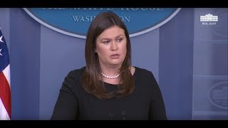 8/2/18: White House Press Briefing