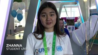 Student UNVs for EXPO-2017 in Astana, Kazakhstan