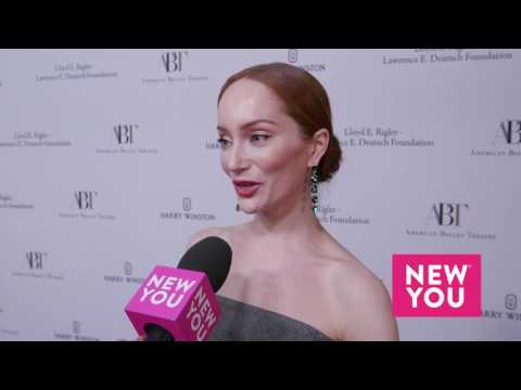 Lotte Verbeek at the American Ballet Theatre's Holiday Benefit