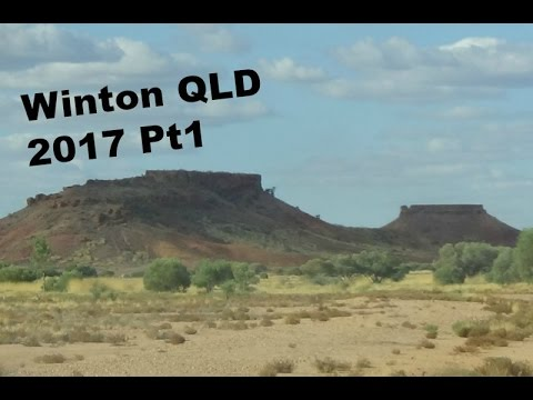 WE GET BOGGED?! Winton Qld trip 2017 RoverLand ep2 pt1
