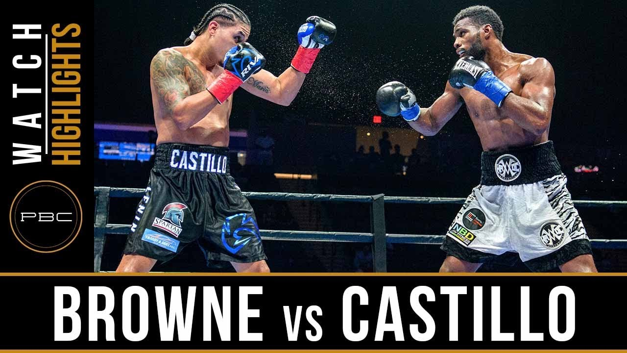 Browne vs Castillo Highlights: August 4, 2018 - PBC on FS2
