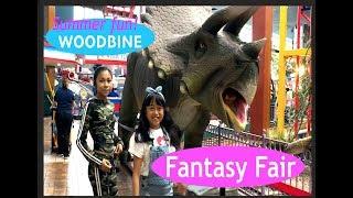 Fun at Fantasy Fair at Woodbine mall - Toronto Canada