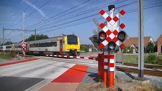 Spoorwegovergang Mol (B) // Railroad crossing // Passage à niveau