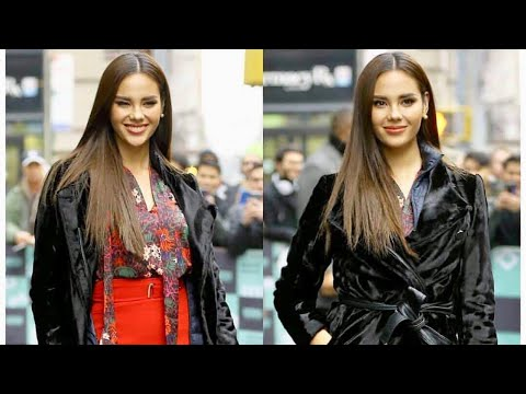 NEW YORK OOTD. Fashionable Miss Universe Catriona Gray on 2nd day of Media Week