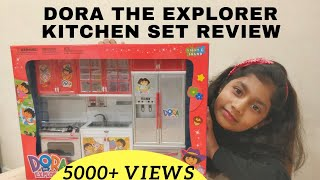 Dora kitchen set Toy Review