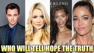 Who Will Tell Hope The Truth - Bold and the Beautiful Spoilers