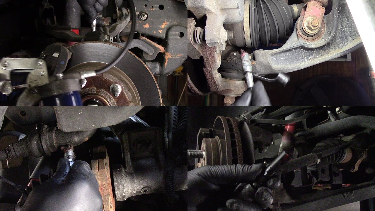 2004 Chevy Tahoe 4wd Grease Fitting Locations Youtube