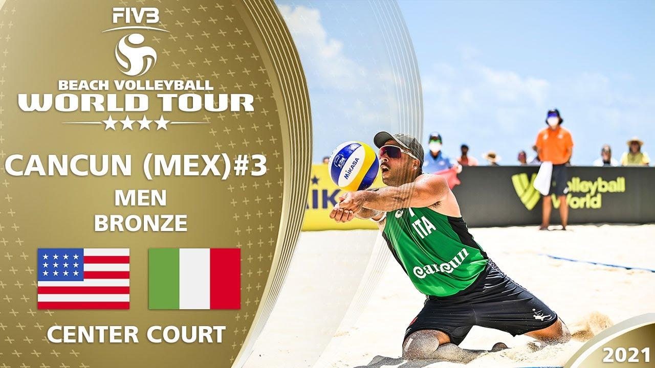 Download Lucena/Dalhausser vs. Carambula/Rossi - Full Match   4* Cancun 2021 #3