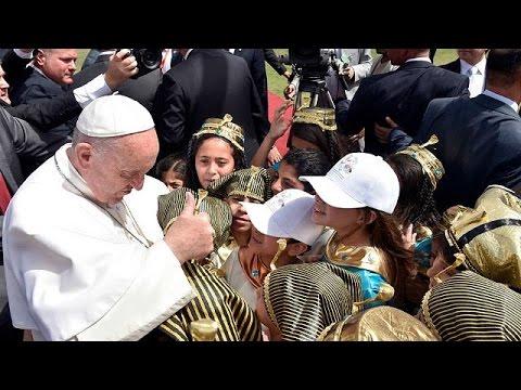 البابا يترأس قداساً في إستاد الدفاع الجوي في القاهرة  - نشر قبل 1 ساعة