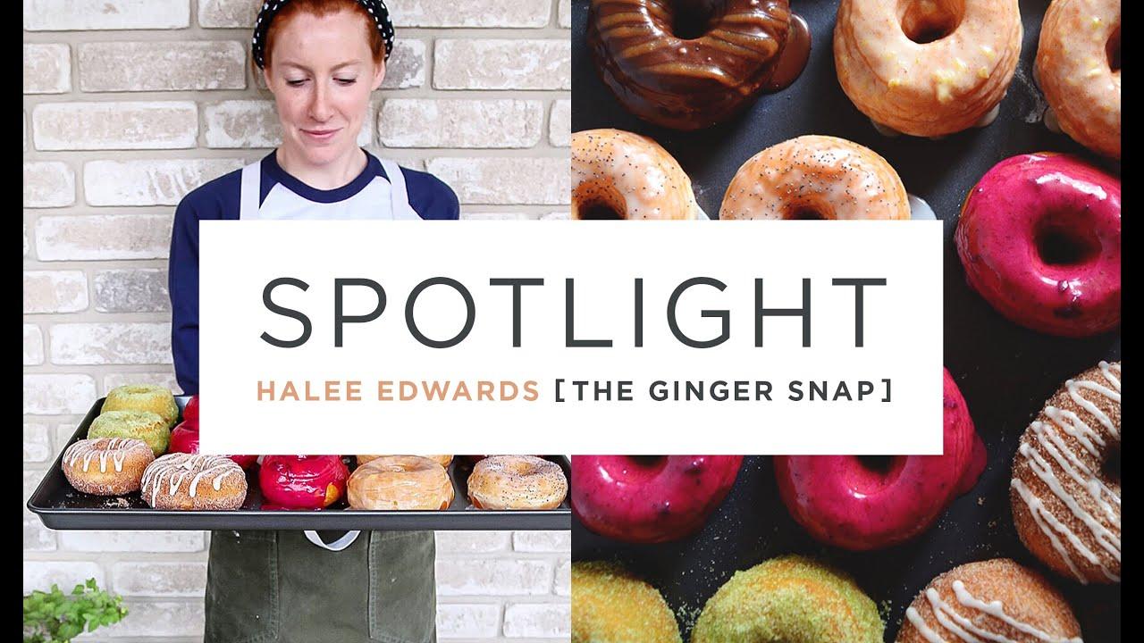SPOTLIGHT: Halee Edwards aka The Ginger Snap - YouTube