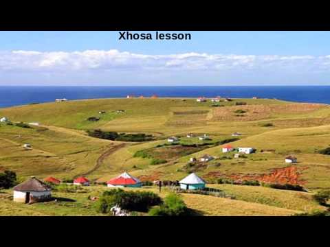 Learn to speak the Most High's language Xhosa - Part 6