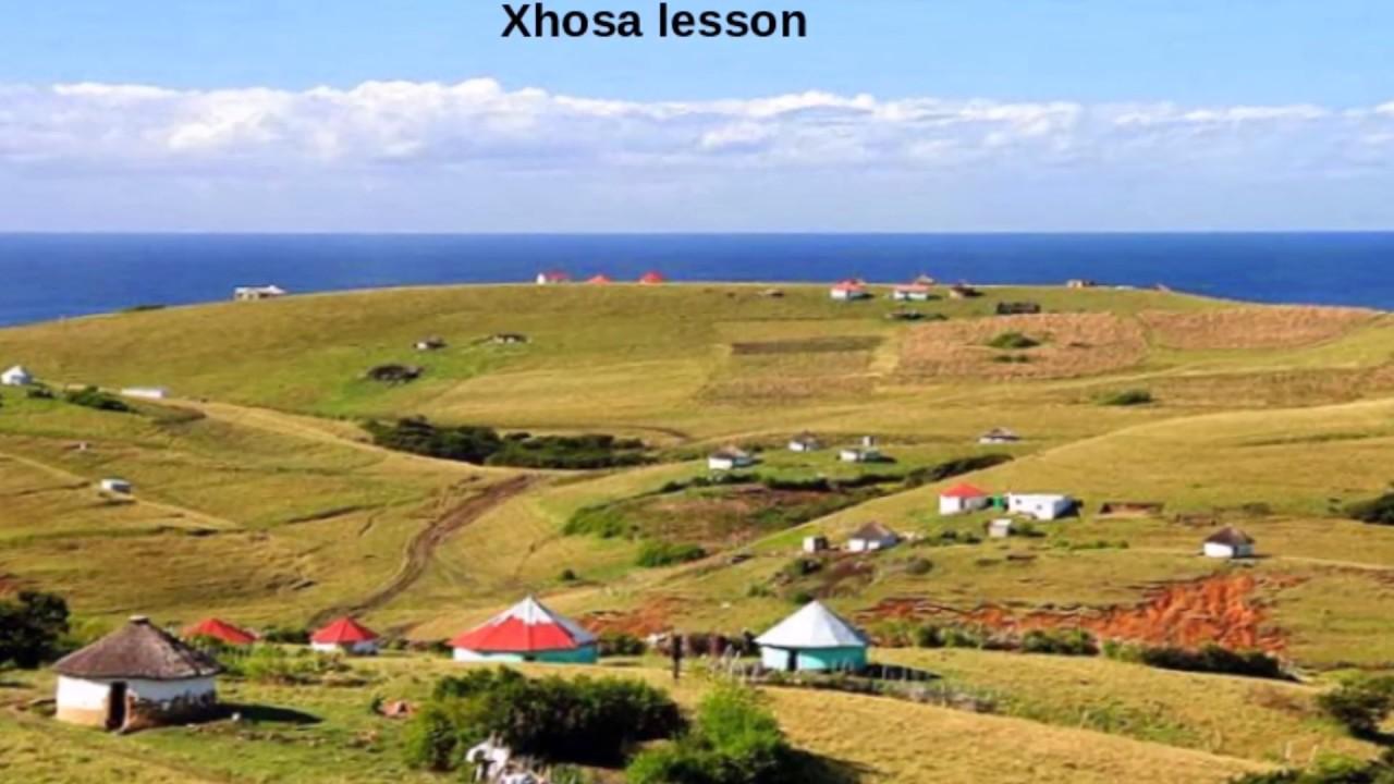 how to speak xhosa language