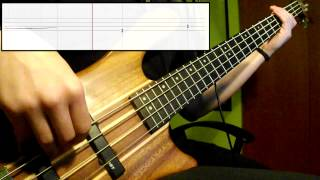 Red Hot Chili Peppers - Hard To Concentrate (Bass Cover) (Play Along Tabs In Video)